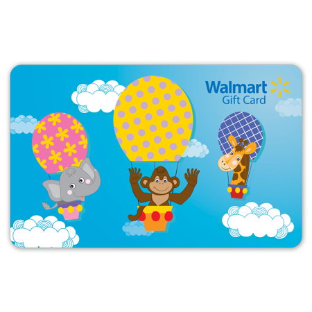 Hot Air Balloon Walmart Gift Card](Wish Com Gift Card)