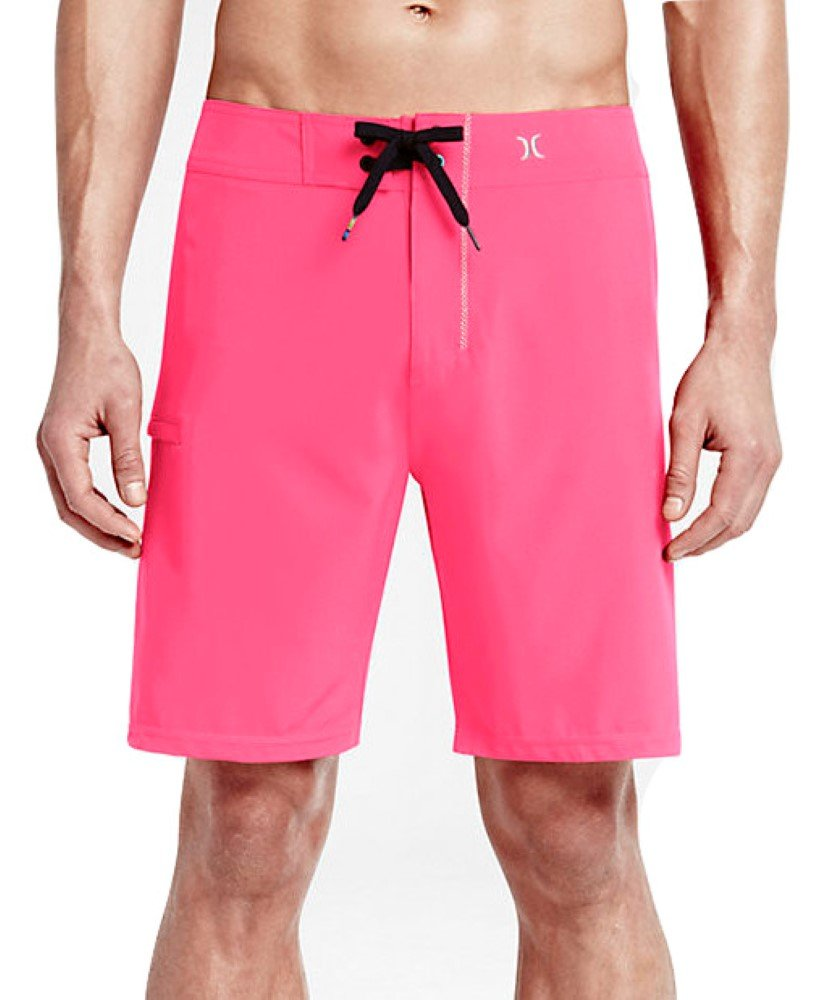 2260d4b2df Hurley - Mens Phantom One & Only 19 Boardshorts Neon Pink - Walmart.com