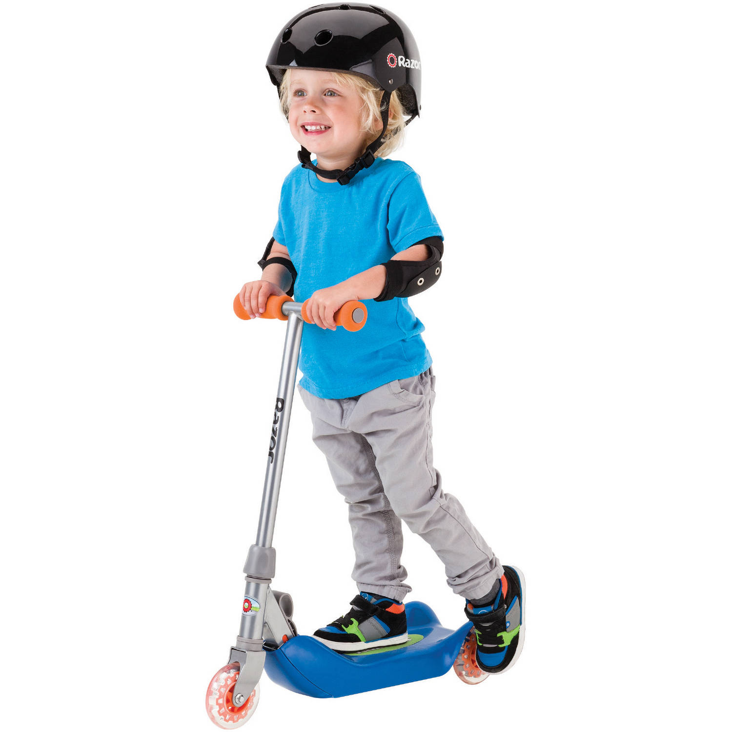 Razor Jr. Folding Kiddie Kick Scooter, Multiple Colors