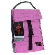 Thermos Pink/Black Insulated Lunch Bag Soft Cooler Peva Lining