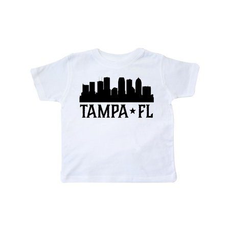 Tampa Florida City Skyline Toddler T-Shirt - Party City In Tampa Florida