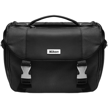 Nikon Deluxe Digital SLR Camera Case - Gadget Bag for Df, D810, D750, D610, D7100, D7200, D5500, D5300, D5200, D3300, D3200 (Camera Bag Nikon 3100)