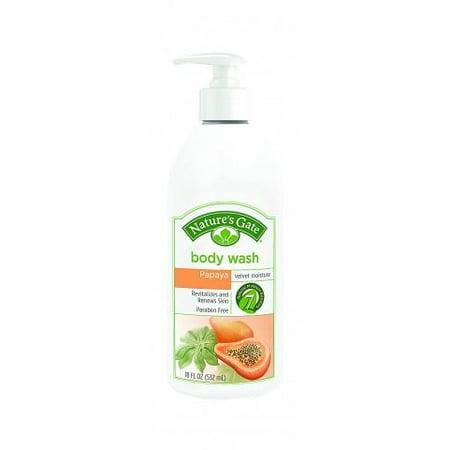 Nature's Gate Nature's Gate Body Wash Velvet Moisture Papaya - 18Ounce