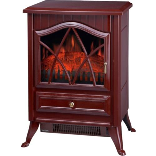 Comfort Glow The Ashton Electric Stove - Cranberry