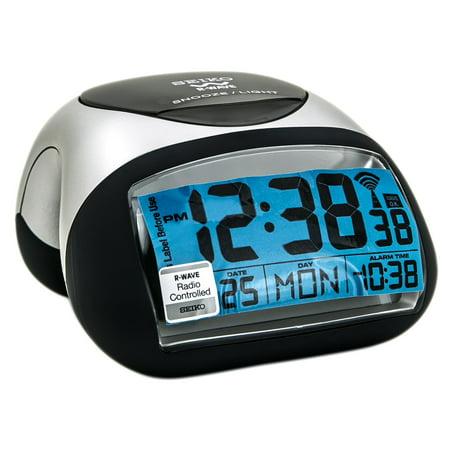 Seiko Qhr008slh Get Up Glow R Wave Bedside Digital Alarm Clock