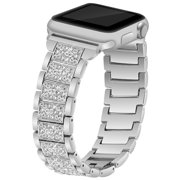 For Apple Watch Band Series 1 2 3 4 Stainless Steel Glitter 42/44mm 40/38mm