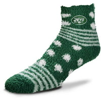 New York Jets For Bare Feet Women's Homegator Socks