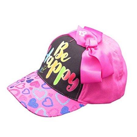 ABG Accessories JoJo Siwa Pink Be Happy Baseball Hat with Bow - Walmart.com f0b31d69cf1