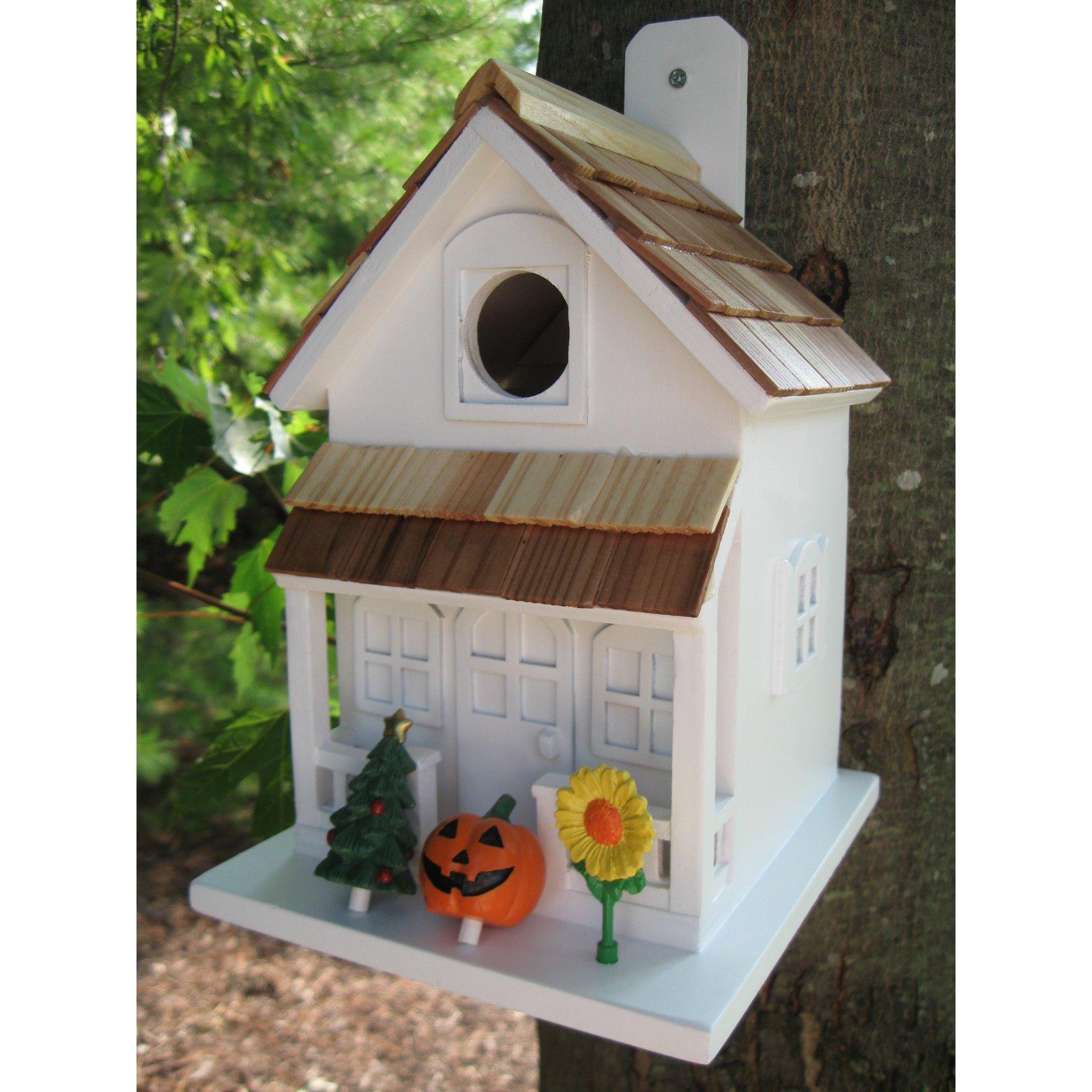 Home Bazaar Little Seasons Tweetings Birdhouse by Home Bazaar Inc.