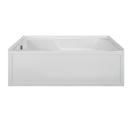 Integral Skirted End Drain Air Bath, Biscuit - 59.875 x 36 x 20 in.
