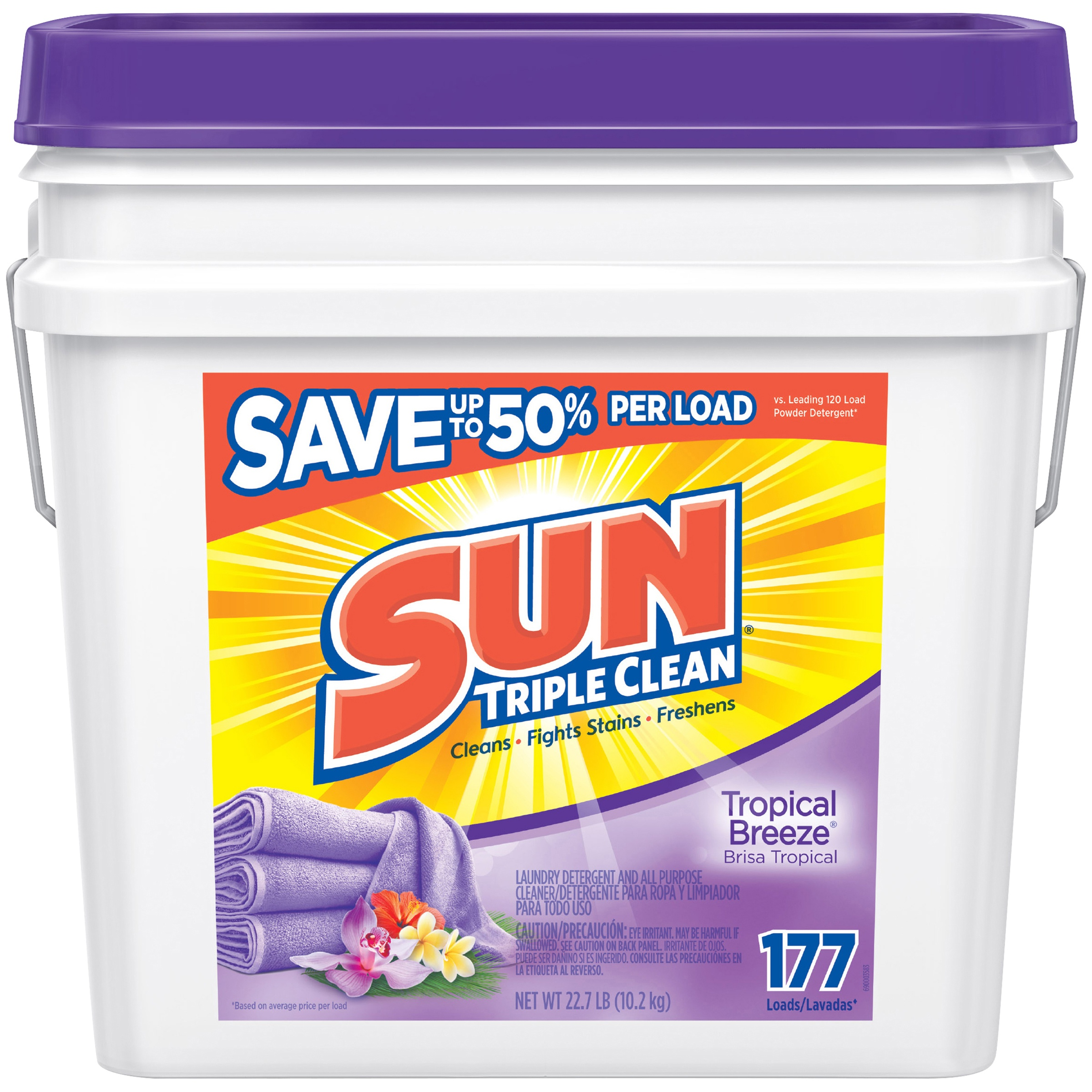 Sun 174 Triple Clean Tropical Breeze 174 Laundry Detergent Amp All
