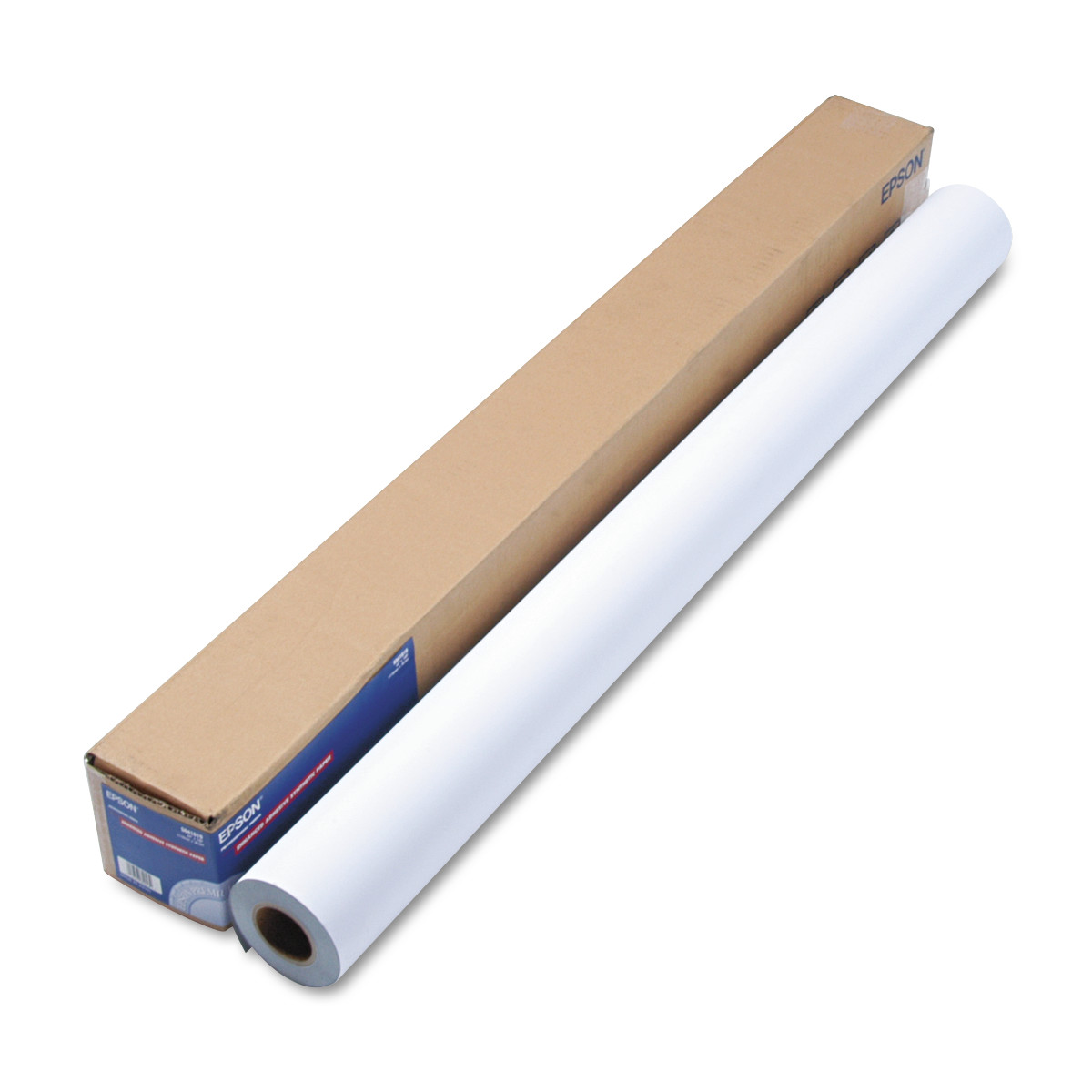 """Epson Enhanced Adhesive Synthetic Paper, 44"""" x 100 ft, White"""
