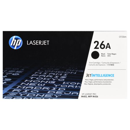 Black Toner Unit - HP 26A Black Original LaserJet Toner Cartridge