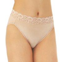 Vanity Fair Womens Flattering Lace Hi-Cut Brief Style-13280
