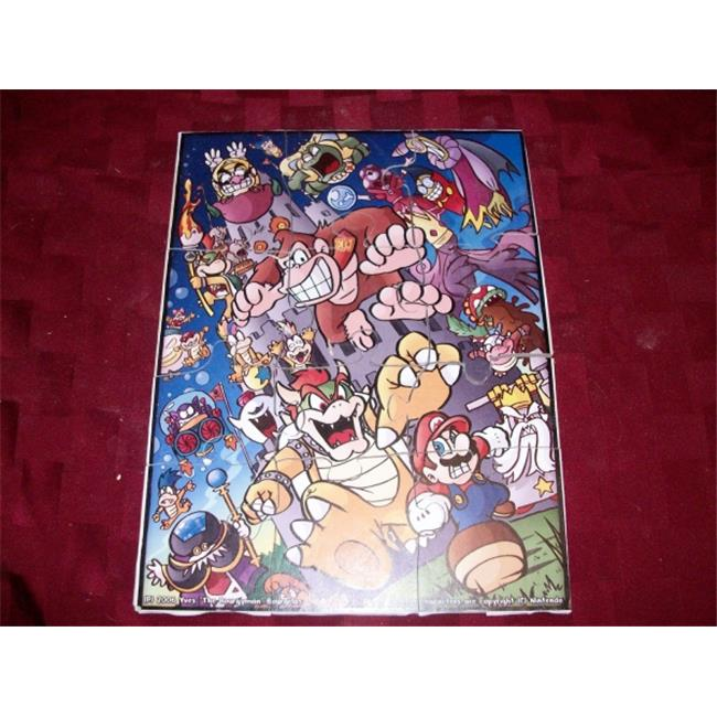 Fine Crafts 214ANI Mario and friends childrens jigsaw puzzle