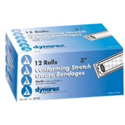 Dynarex Conforming Stretch Gauze Bandages 3 Inch Sterile 12 Each (Pack of 6)