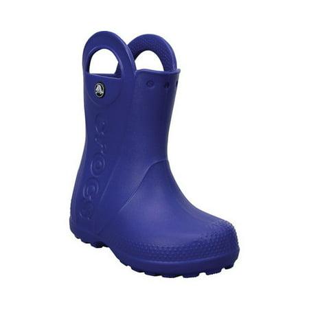 4cc6aeb6e9058 Crocs - Crocs Handle It Rain Boot Cerulean Blue High-Top Rubber - 10M -  Walmart.com