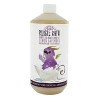Alaffia - Everyday Shea Moisturizing Shea Butter Bubble Bath Calming Lemon-Lavender - 32 oz.(pack of 1)