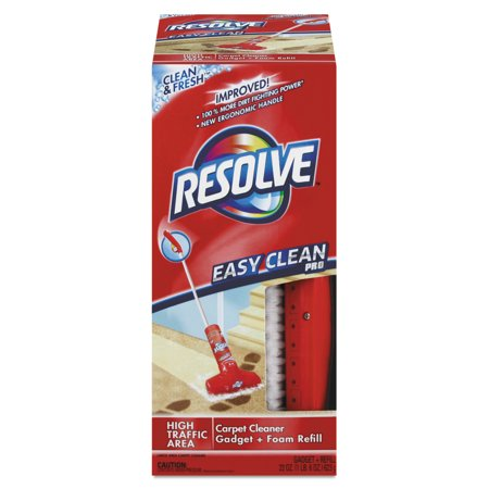 Resolve Easy Clean Carpet Cleaning System W Brush Foam