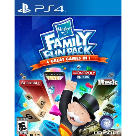 Hasbro Family Fun Pack (PS4) - Pre-Owned