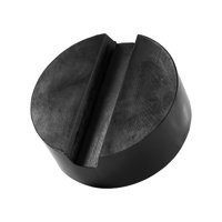 WALFRONT 65x33mm Cylinder Shape Rubber Pad Rubber Block for Hopper Stock Bin Jack Durable,Rubber Pad, Jack Pad