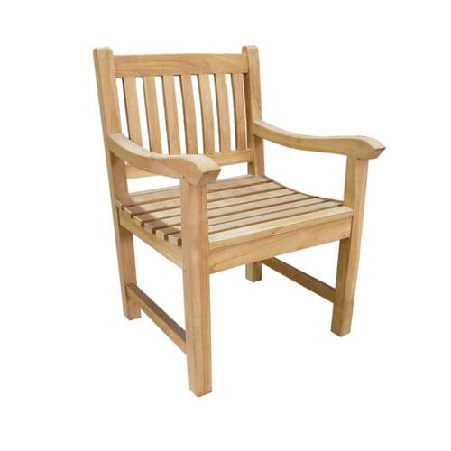 D-Art Collection Riverside Teak Patio Chair
