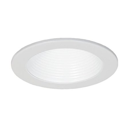 - Jesco Lighting RLT-4002-WH-WH 4 in. Aperture Step Baffle Trim, White