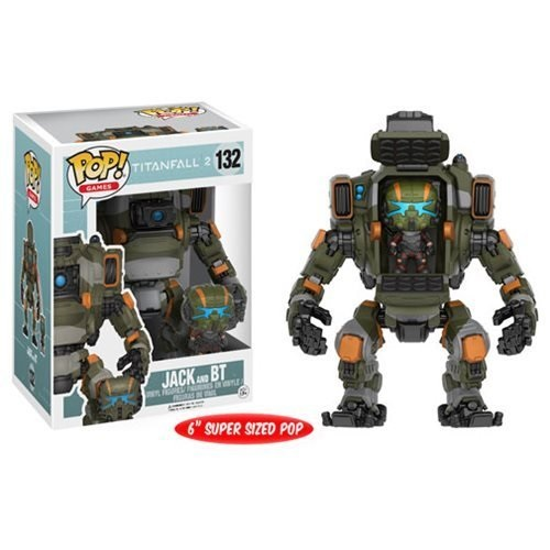Titanfall 2 Jack Pop Vinyl Figure and BT Titan Vehicle