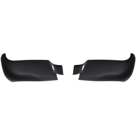 Rear BumperShellz - Matte Black, w/o sensor holes (Bumper Cover) for 05-15 Toyota Tacoma All