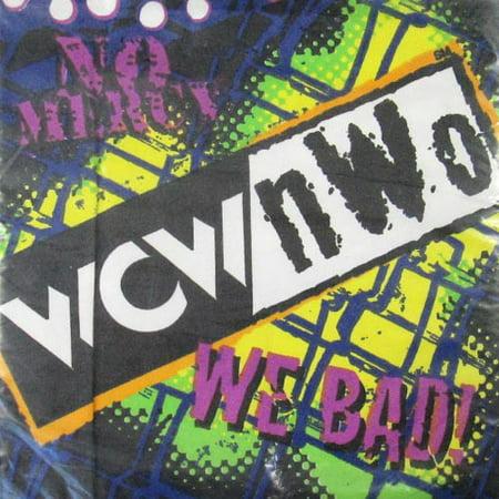 WCW / nWo Wrestling Vintage 1999 Small Napkins (16ct) - Wcw 1999 Halloween Havoc