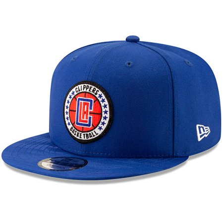 LA Clippers New Era 2018 Tip-Off Series Team 9FIFTY Adjustable Hat - Royal - OSFA