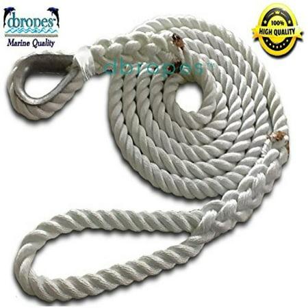 3 strand mooring pendant 100 nylon rope 34 x 18 premium with 3 strand mooring pendant 100 nylon rope 34 x 18 premium aloadofball Image collections