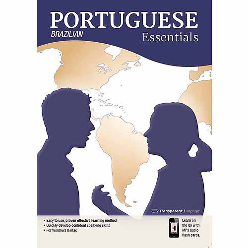 Transparent Language Brazilian Portuguese Essentials for Mac (Digital Code)