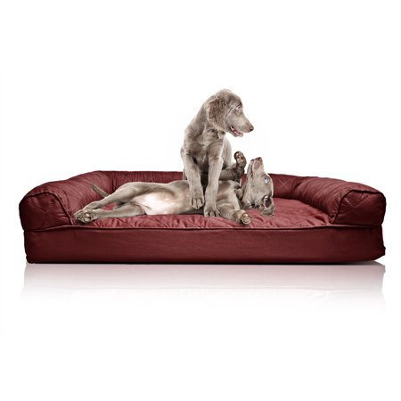 Zoey Tails Quilted Orthopedic Sofa Style Dog Bed
