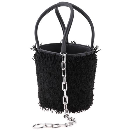 Alexander Wang Ladies Hobo bag Roxy Mini Bucket- Black