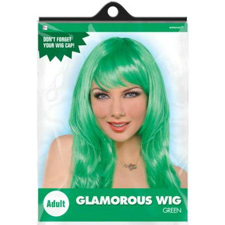Green Glamorous Wig