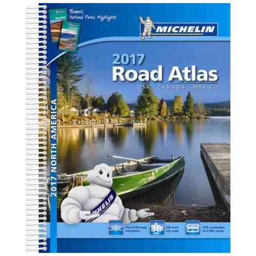 Michelin 2017 Road Atlas North America USA, Canada, Mexico
