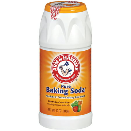 (4 Pack) Arm & Hammer Pure Baking Soda, 12 oz ()