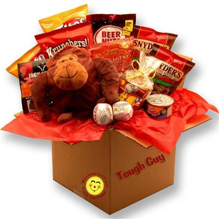 Gift Basket 819591 Tough Guys Snack Care Package Gift Basket ()