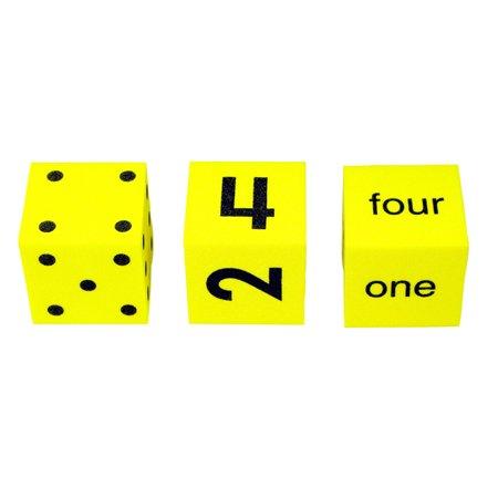 Three Man Dice (SPOT WORD NUMBER DICE SET OF)