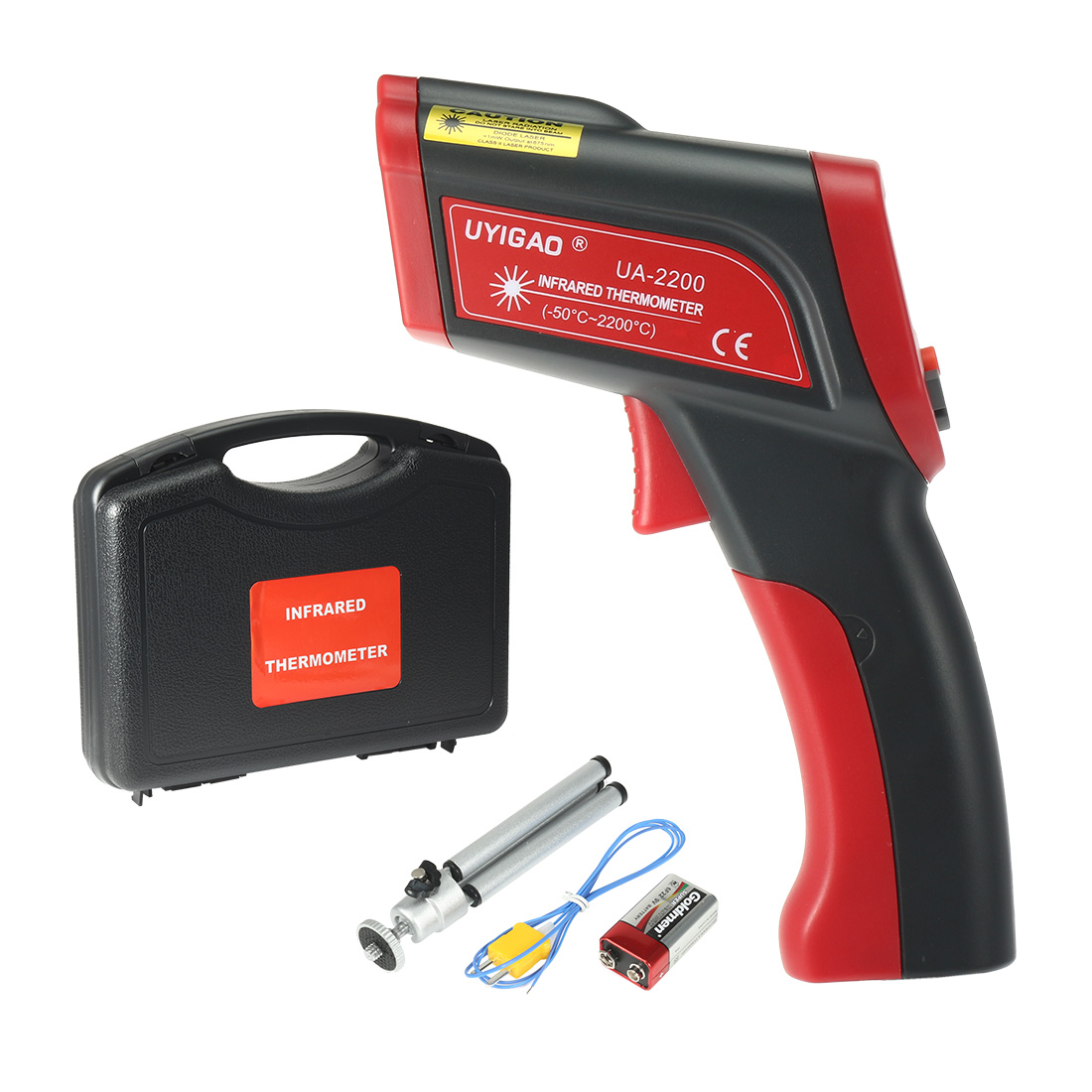 Non-Contact IR Temperature Test Digital Infrared Thermometer -50C - +2200C