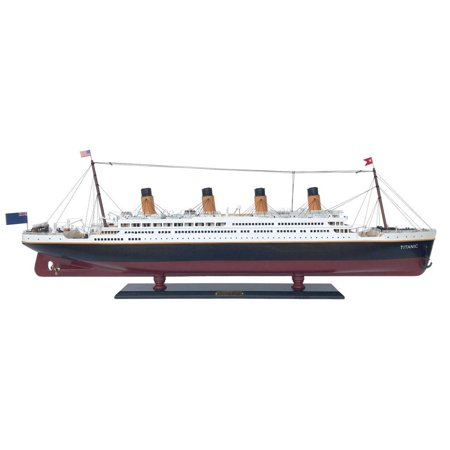 Rms Titanic 40   Limited  Wooden Titanic Ship Replica   Scale Model Ship   Handcrafted Model Cruise Ship   White Star Lines Cruise Liner   Rms Titani