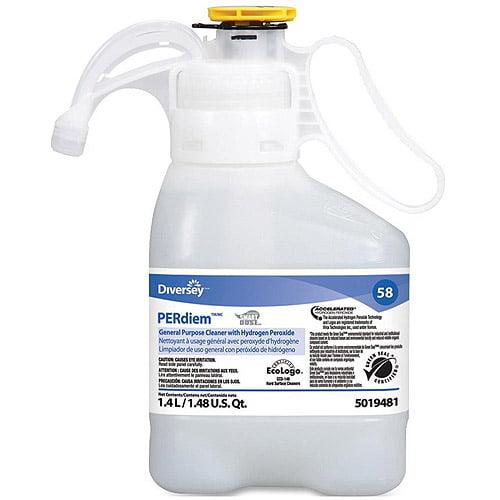 Diversey Cleaner,G-Purp,1.4l,2/Cs 95019481