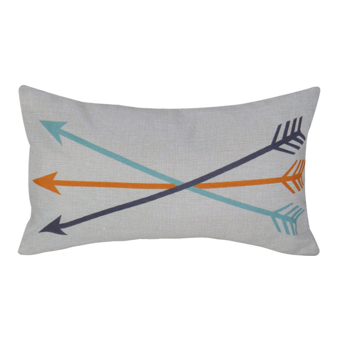 Image of: Home Sofa Bed Chair Decorative Lumbar Pillow Cover Cushion Case 12 X 20 Inch W Hidden Zipper Walmart Com Walmart Com