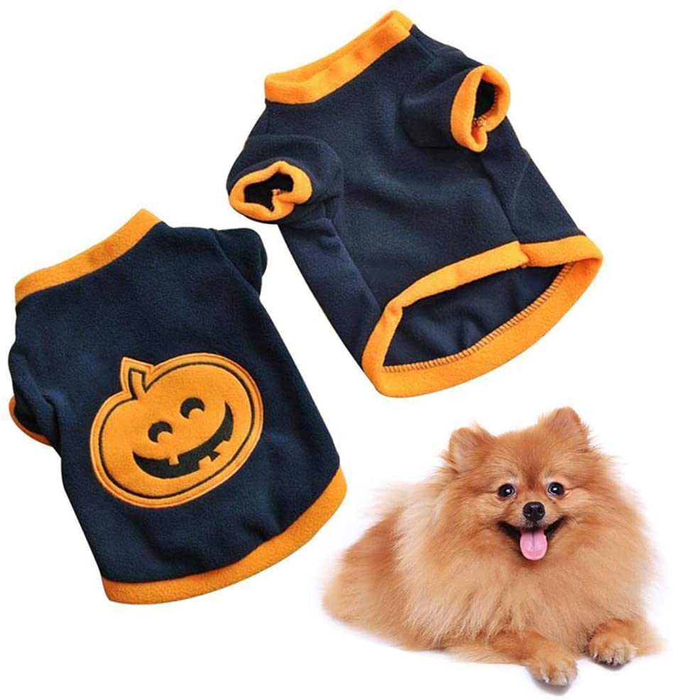 BESUFY Dog Onesie,Breathable Cute Soft Warm Christmas Puppy Clothes for Small Medium Dogs Boy Girl Christmas Pet Puppy Cat Dog Clothes Cute Costume Letters Printed T-Shirt Apparel XS