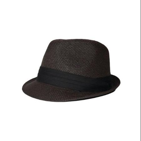 9446fe6af1113 The Hatter Co. - The Hatter Co. Tweed Classic Cuban Style Fedora Fashion  Cap Hat - Walmart.com