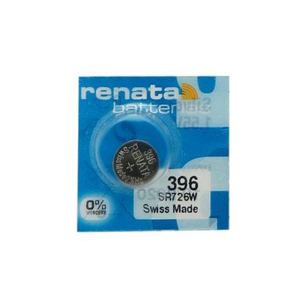 50 x 396 / 397 / SR726SW Renata Silver Oxide Button Batteries - image 1 de 1
