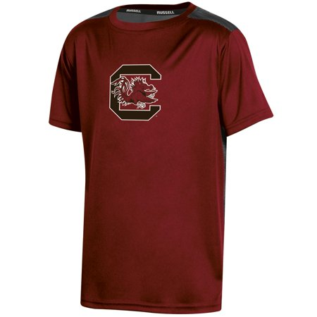 Youth Russell Garnet South Carolina Gamecocks Color Block T-Shirt (South Carolina Gamecocks Cover)