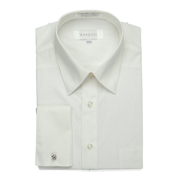 Men's Regular Fit French Cuff Dress Shirt - Cufflinks Included