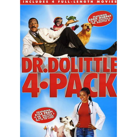 Dr. Dolittle 4-Pack ( (DVD)) Dvd 3 Pack Light
